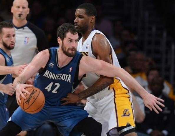 Kevin Love3 e1384175870798 Minnesota Timberwolves   Ricky Rubio and a Special Triple Double