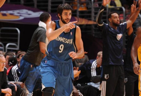 Ricky Rubio e1384175833929 Minnesota Timberwolves   Ricky Rubio and a Special Triple Double