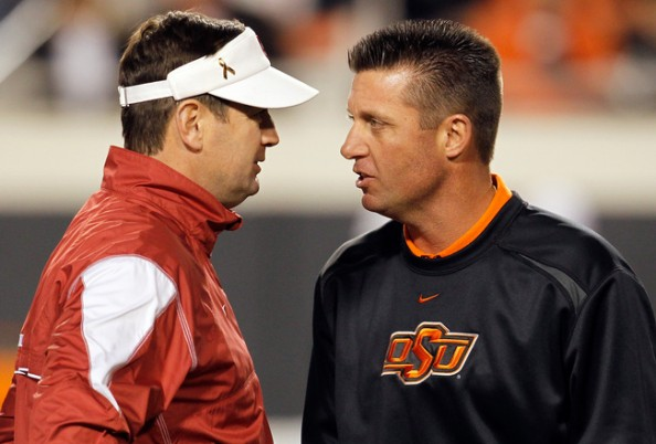 Bob Stoops, Mike Gundy
