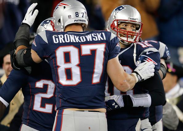 Brady, Gronkowski