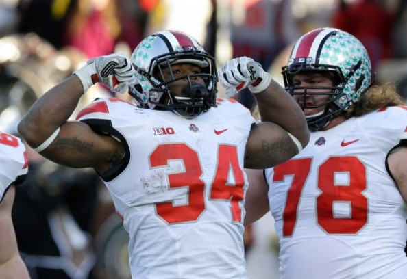 Carlos Hyde e1385914644307 BCS National Championship Game   Ohio State Deserve it More Than Auburn or Missouri