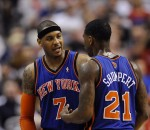 Carmelo Anthony, Iman Shumpert