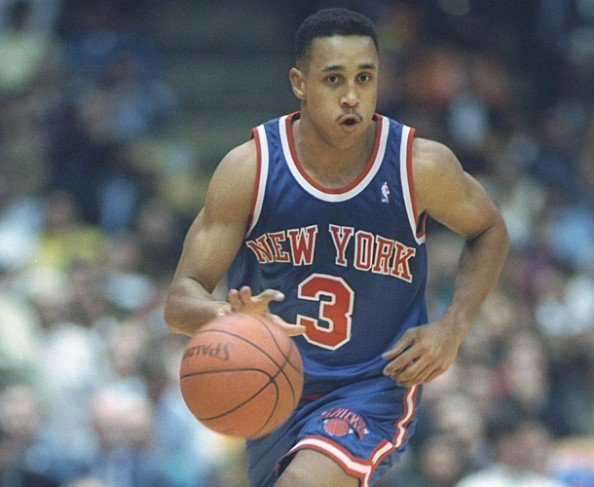 John Starks e1386515557686 NBA Franchises All Time Three Point Leaders
