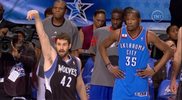 Kevin Durant, Kevin Love