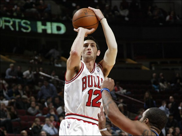 Kirk Hinrich e1386512943939 NBA Franchises All Time Three Point Leaders