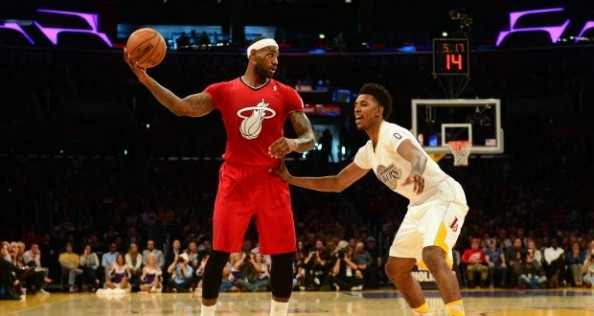 LeBron James, Nick Young