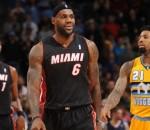 LeBron James vs Nuggets