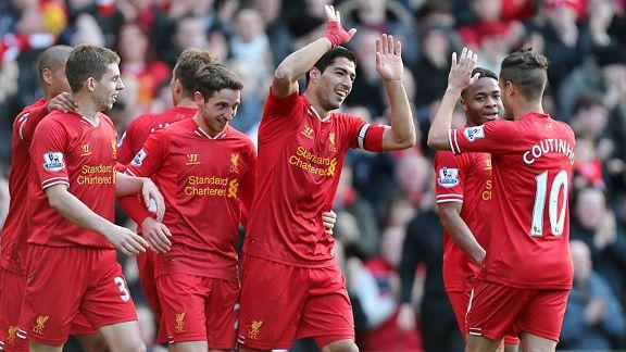 Liverpool Beat Cardiff
