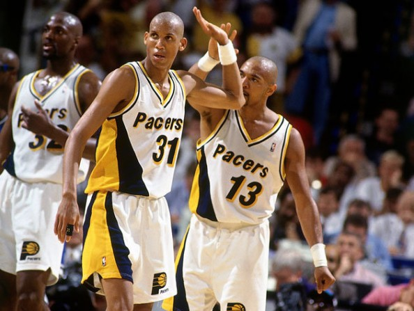 Reggie Miller e1386514038667 NBA Franchises All Time Three Point Leaders