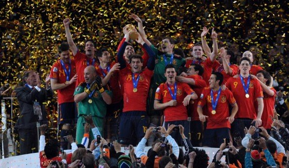 Spain 2010 World Cup champions