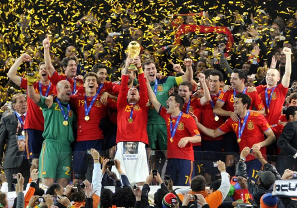 Spain World Champions