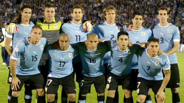 Uruguay's football squad