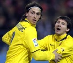 Zlatan Ibrahimovic, Lionel Messi