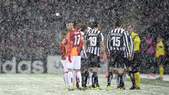 Galatasaray, Juventus, Snow