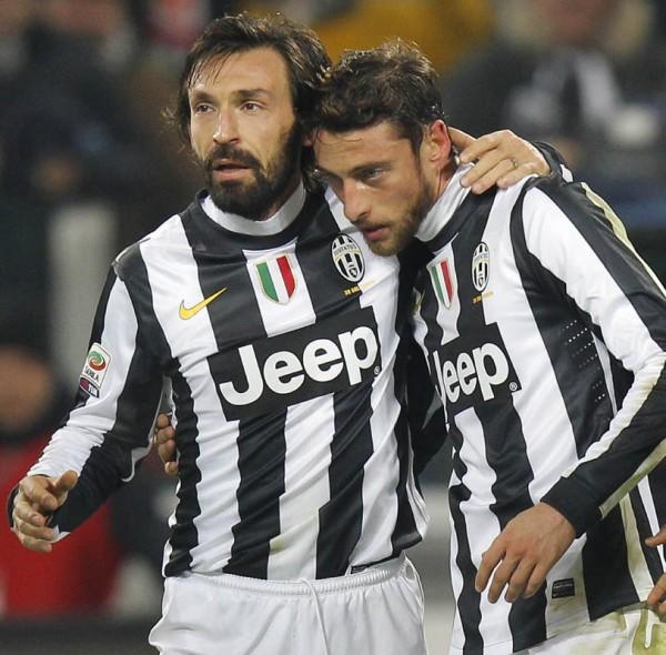 Andrea Pirlo, Claudio Marchisio
