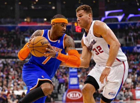 Carmelo Anthony, Blake Griffin