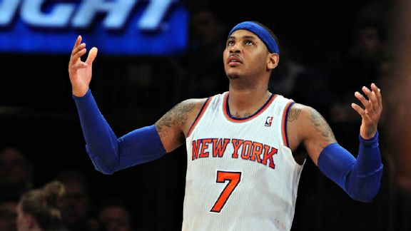 054a5f88853 NBA Rumors - Carmelo Anthony Prefers the Chicago Bulls Over the Los ...