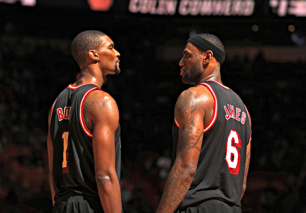 Chris Bosh, LeBron James
