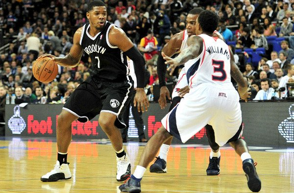 BASKET-GBR-USA-NBA-ATLANTA-BROOKLYN