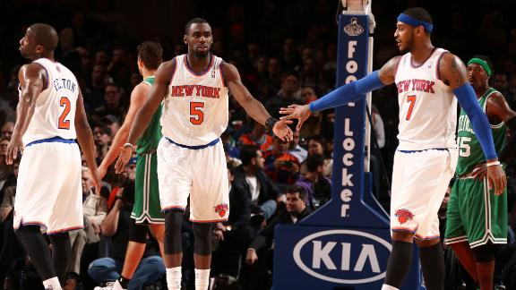Knicks Beat Celtics