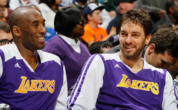 Kobe Bryant & Pau Gasol