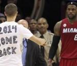 LeBron James & Cavs Fan