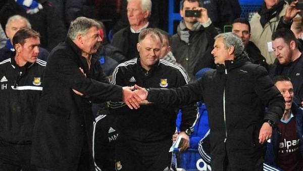 Sam Allardyce, Jose Mourinho