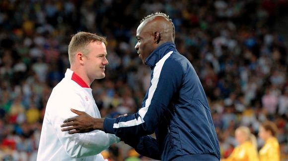 Wayne Rooney, Mario Balotelli