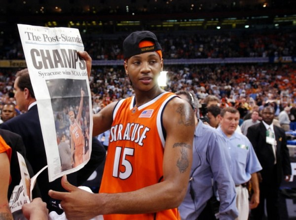 Is this the last championship Carmelo Anthony wins?