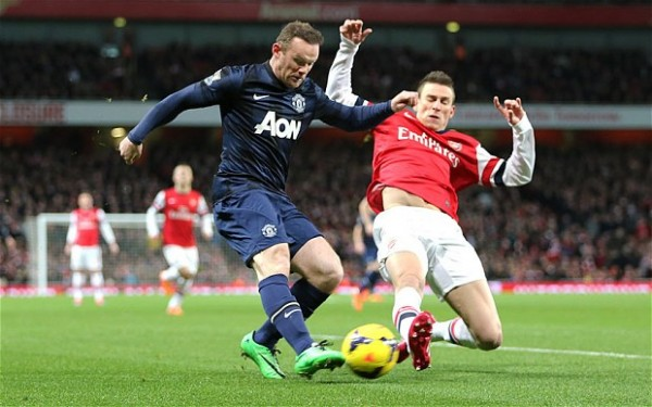 Arsenal vs Manchester United e1392241479258 Match Highlights   Arsenal vs Manchester United