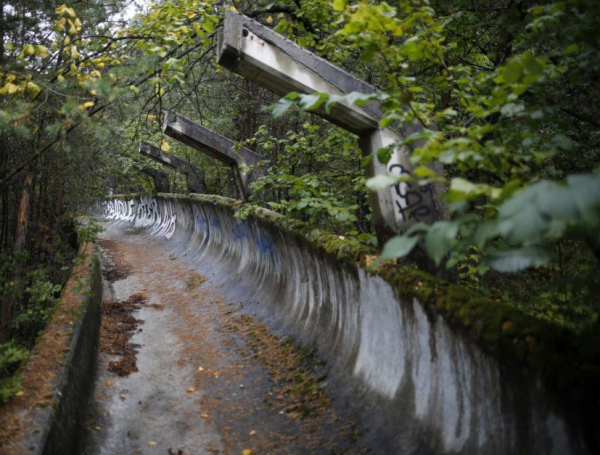 Bobsled Track
