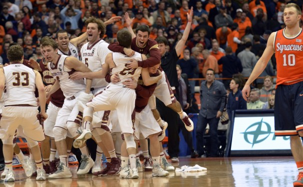 Boston College Beat Syracuse