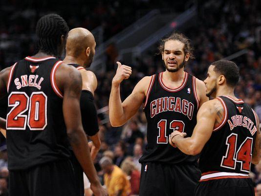 Bulls Beat Suns