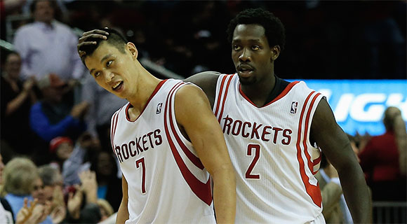 Jeremy Lin Patrick Beverley Houston Rockets   Jeremy Lin Cant Be Playing Less Than Patrick Beverley