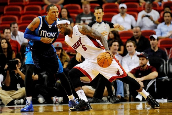 LeBron James, Shawn Marion