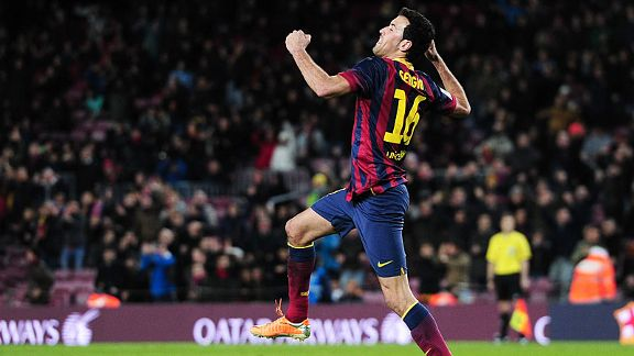 Sergio Busquets Match Highlights   Barcelona vs Real Sociedad