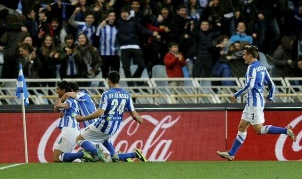 Sociedad beat Barcelona