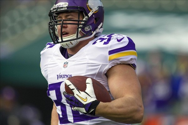Toby Gerhart e1392379066670 NFL Rumors   New York Giants, Cleveland Browns & Miami Dolphins Interested in Signing Toby Gerhart