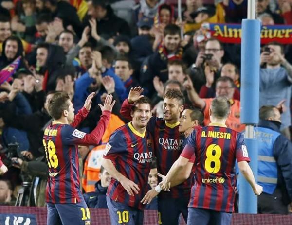 Barcelona beat Celta