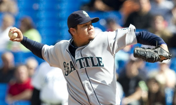 Felix Hernandez e1395235140915 10 Highest Paid Baseball Players Heading into the 2014 MLB Season