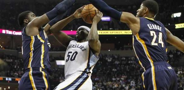 Grizzlies beat Pacers