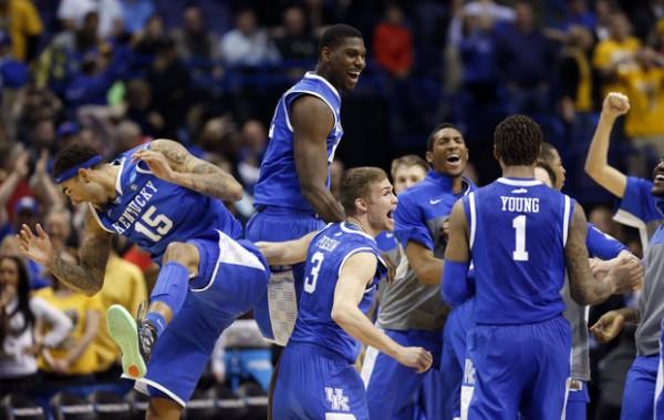 Kentucky beat Wichita State