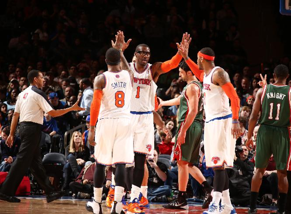 Knicks beat Bucks