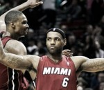 LeBron James, Chris Bosh