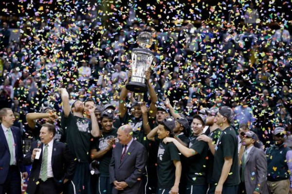 Michigan State beat Michigan e1395051458641 Conference Championships: Virginia in the ACC, Florida in the SEC, Michigan State in the Big Ten