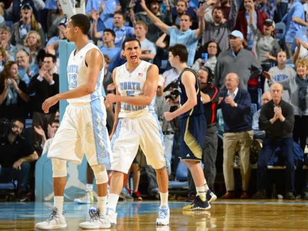 North Carolina Beats Notre Dame