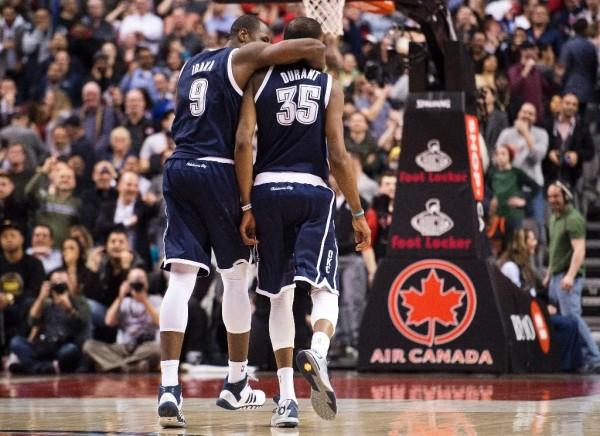 Serge Ibaka, Kevin Durant