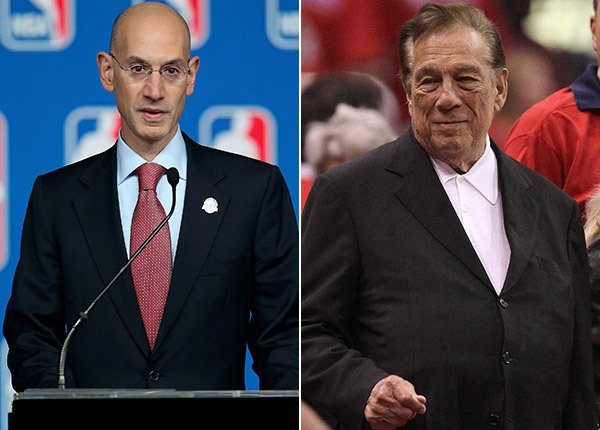 Adam Silver, Donald Sterling