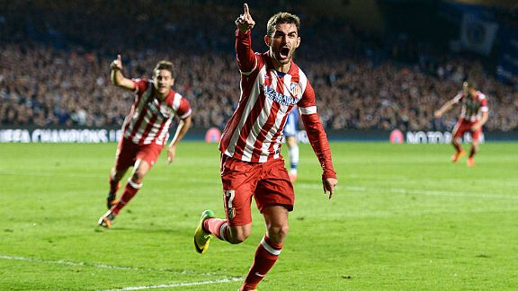 Atletico Madrid beat Chelsea