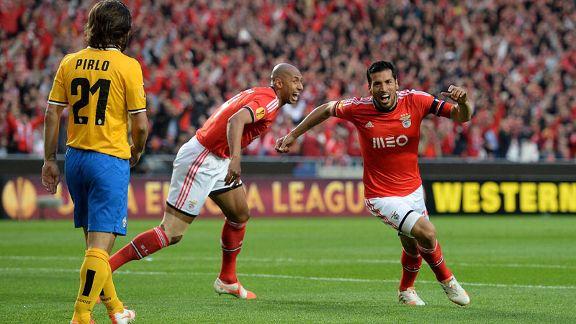 Benfica beat Juventus